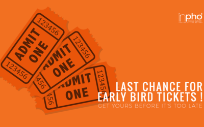 Last chance for Early Bird tickets !