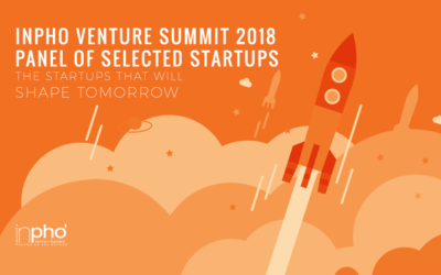 INPHO Venture Summit 2018 panel of selected startups